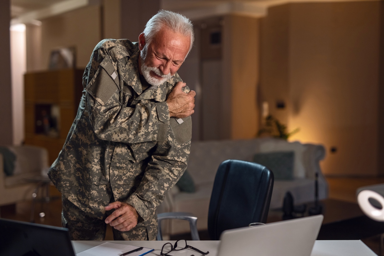 Lifelong sacrifices of military veterans include chronic musculoskeletal pain